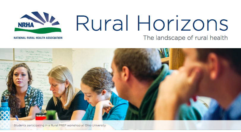 NRHA Rural Horizons Magazine with Rural PREP header image